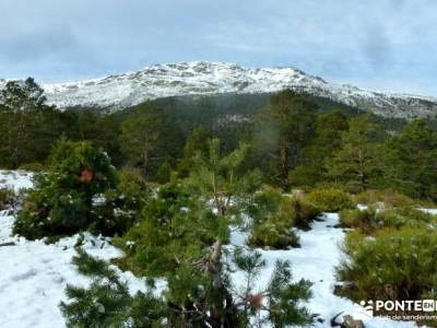 Cabeza Mediana y Camino de la Angostura; senderismo fin de semana; senderismo en madrid